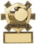Table Tennis Mini Shield Award
